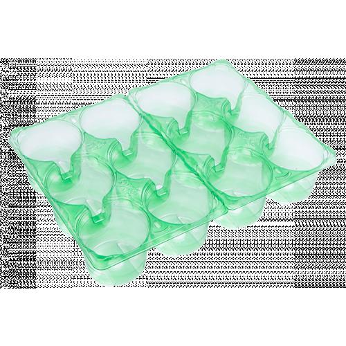 Modiform Carry Pack 2*6x9cm Transparent Green PET (2520/Pallet) - Each