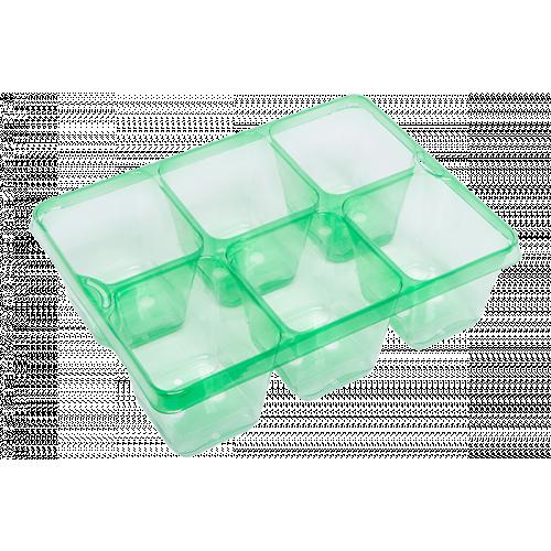 Modiform Endpack 6 (Transparent Green PET) (4200/P,84x50/B) - Each
