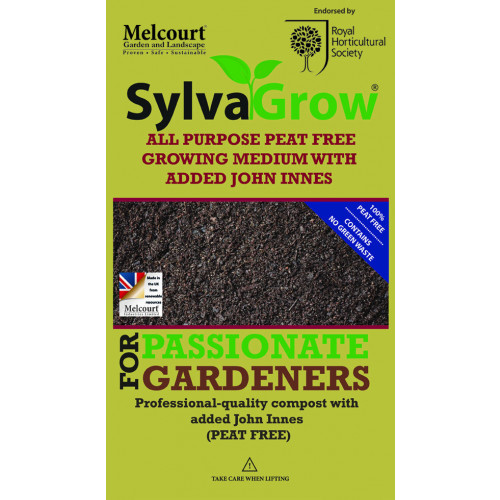 Melcourt Sylvagrow Multipurpose Compost with John Innes [50Ltr] (60/Pallet) - Each