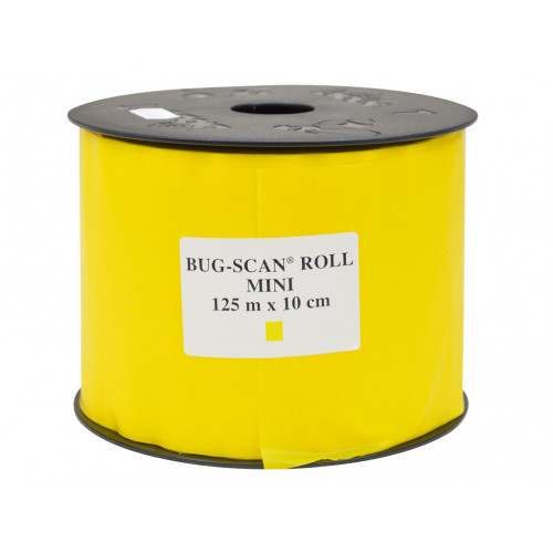 Bug-Scan Roll Yellow (10cm x 125m) - 3/Pack
