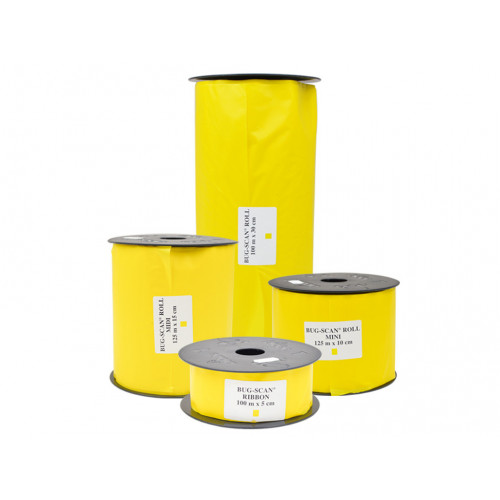 Bug-Scan Roll Yellow (5cm x 100m) - 5/Pack