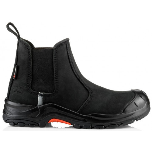 NKZ101BK Dealer Boot S3 HRO SRC [Black Nubuck Leather] Sizes 6-13