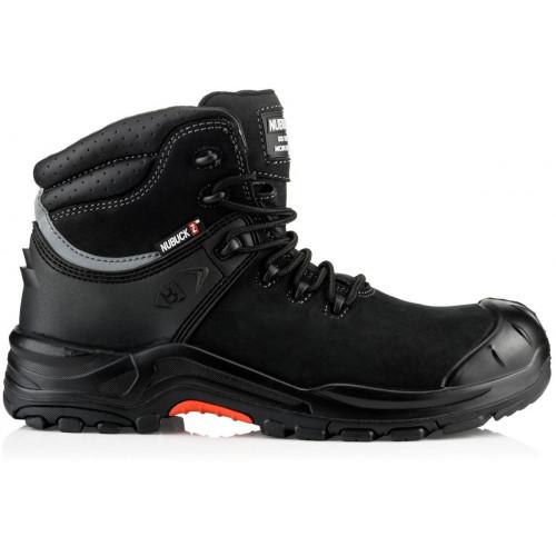 NKZ102BK Lace Boot S3 HRO SRC [Black Nubuck Leather] Sizes 6-13