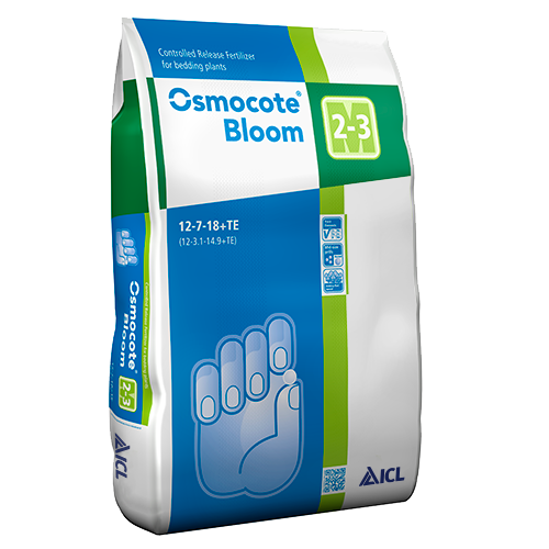 Osmocote Bloom 2-3mth (NPK 12-07-18+1.5MgO+TE) - 25kg