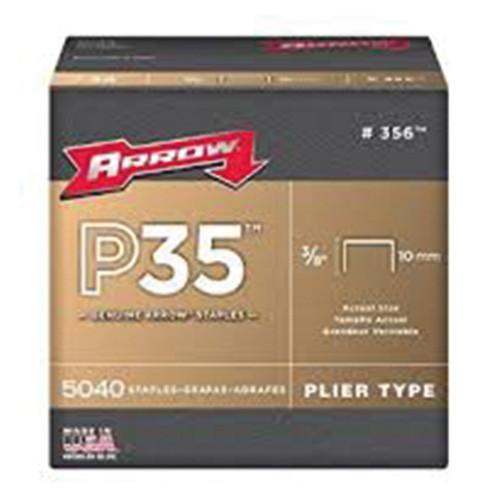 "P35 Arrow Staples 10mm 3/8"" (5,040)"
