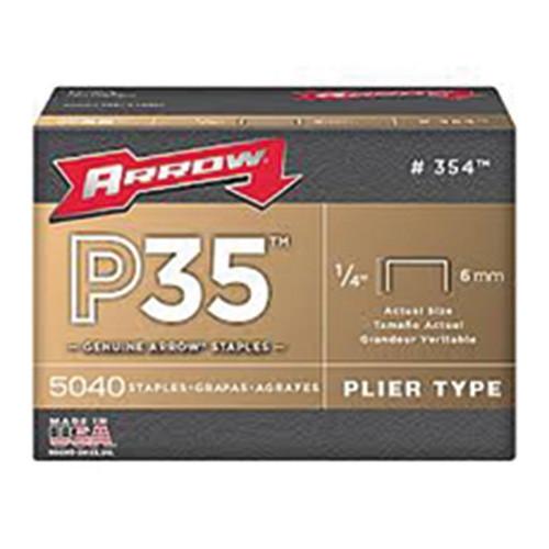 "P35 Arrow Staples 6mm 1/4"" (5,040)"