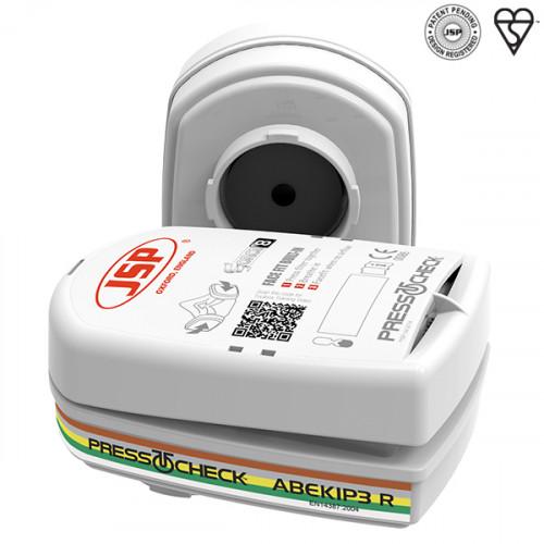 ABEK1P3 PressToCheck Filter for JSP Force 8 Half Mask - Pair