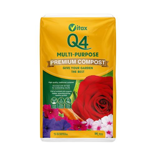 Vitax Q4 Multipurpose Compost [56L] (68/Pallet) - Each
