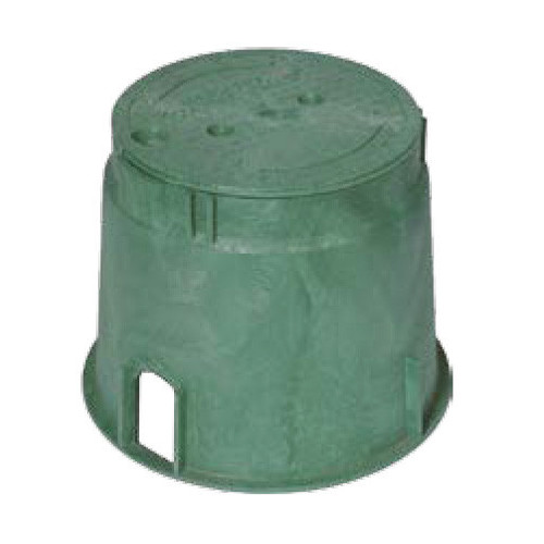 "Valve Box (Carson) 10"" Round Lid Only"