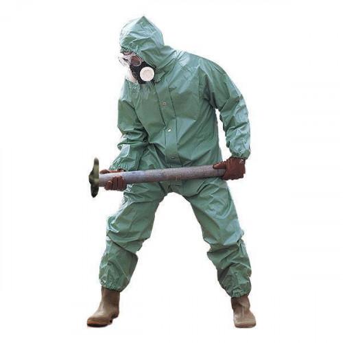 Chemical Resistant Boiler Suit GREEN