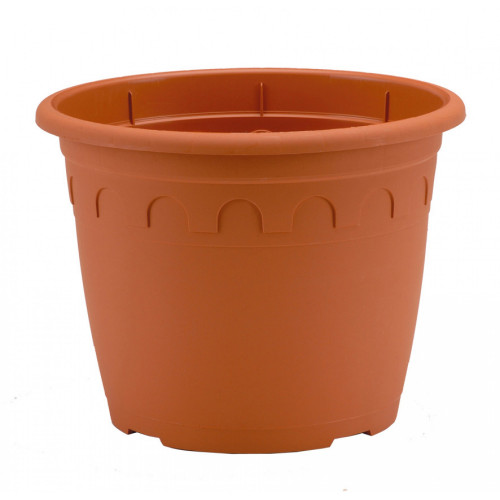 Soparco 27652925 Roma Bell Pot [4.6Ltr] Clay (20/Pallet) - 62/Sleeve