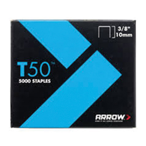 "T50 Arrow Staples 10mm 3/8"" (5,000)"
