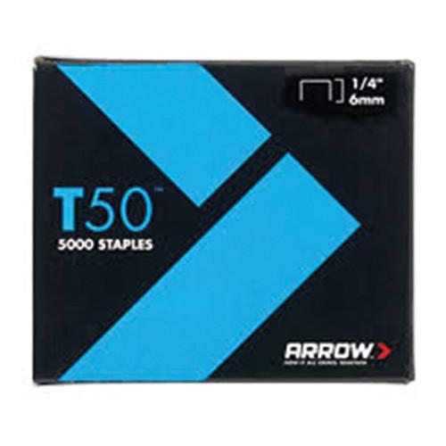 "T50 Arrow Staples 6mm 1/4"" (5,000)"