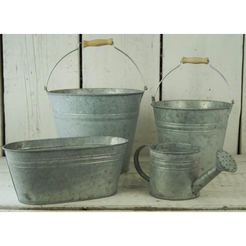 Traditional Double Ridge Zinc Planters