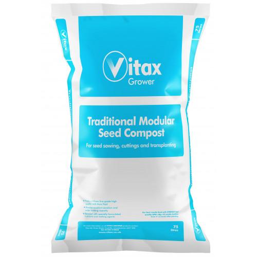 Vitax Modular Seed Compost [75L] (48/Pallet) - Each