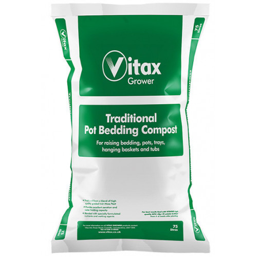 Vitax Traditional Pot Bedding Compost [75L] (48/Pallet) - Each