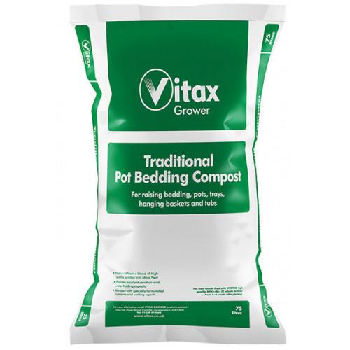 Vitax Traditional Pot Bedding Compost [75L] (51/Pallet) - Each