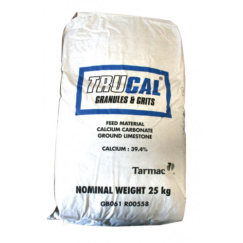 Trucal 130/Calcium Carbonate (Ground Lime) (49/Pallet) - 25kg Bag