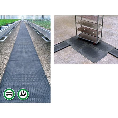 Danish Trolley Track Turning Plate