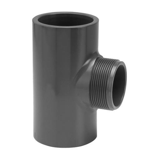 PVC Tee [Plain x BSP(M)]