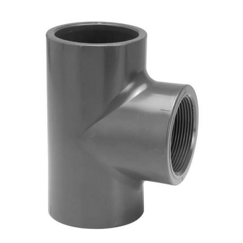PVC Tee [Plain x BSP(F)]