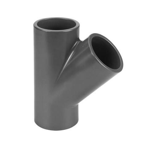 PVC Tee 45° [Plain]