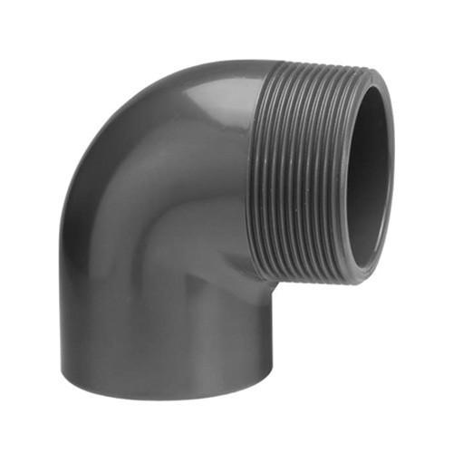 PVC Elbow [Plain x BSP(M)]