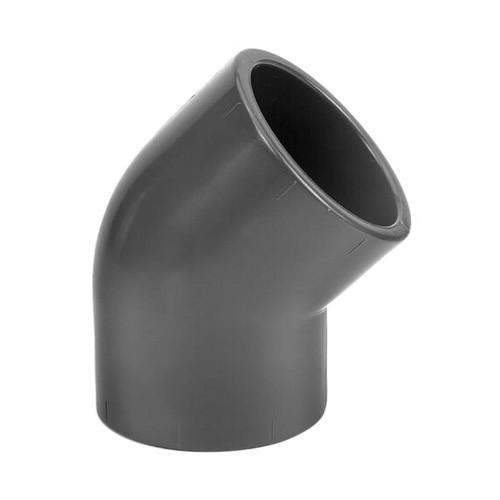 PVC Elbow 45° [Plain]