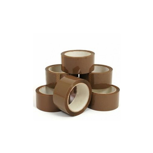 Brown Packaging Tape 50mm x 66m [Roll] (36/B) - Each