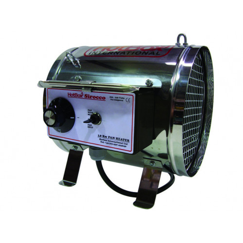 Hotbox Sirocco 1.8kW Output Heater