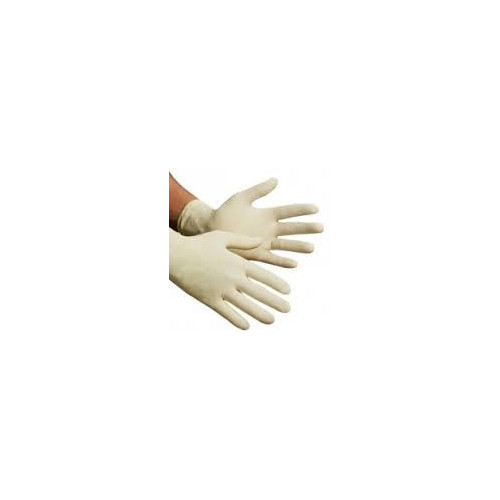 Latex Powdered Disposable Gloves - Box of 100