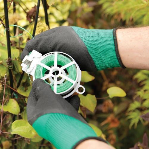 Spear & Jackson Kew Garden Master Gloves (Green & Black)